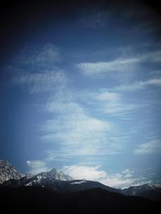 ヒマラヤの空の写真素材 [FYI00986687]