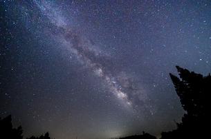 天の川の写真素材 [FYI00987068]