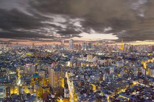 東京の夜景の写真素材 [FYI00987309]