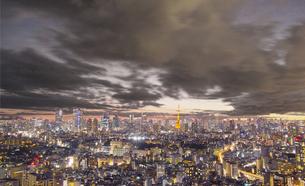 東京の夜景の写真素材 [FYI00987310]