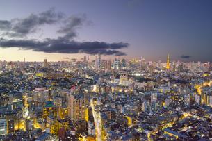東京の夜景の写真素材 [FYI00987311]