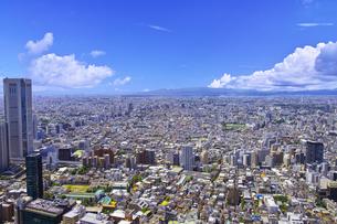 東京都庁から見た東京都下の風景の写真素材 [FYI00987478]