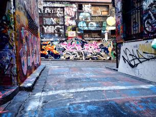 メルボルン ストリートアートの写真素材 [FYI00987545]