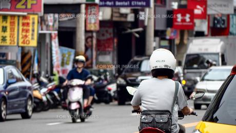 東南アジア バイクの写真素材 [FYI00987547]