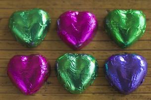 ハートのバレンタインチョコレートの素材 [FYI00989796]