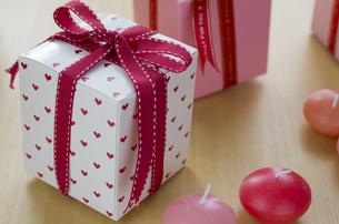 バレンタインのギフトボックスの素材 [FYI00989820]