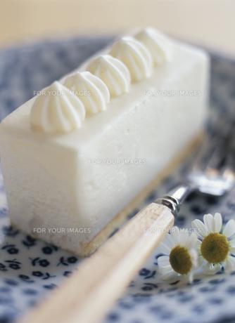 レアチーズケーキの素材 [FYI00989854]