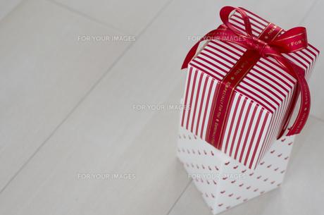 バレンタインのギフトボックスの素材 [FYI00989861]