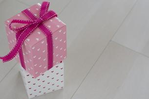 バレンタインのギフトボックスの素材 [FYI00989862]