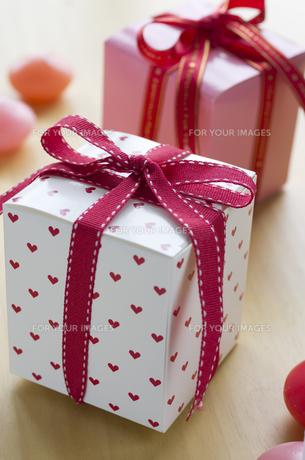 バレンタインのギフトボックスの素材 [FYI00989868]