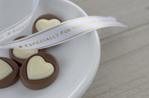 ハートのバレンタインチョコレートの素材 [FYI00989888]