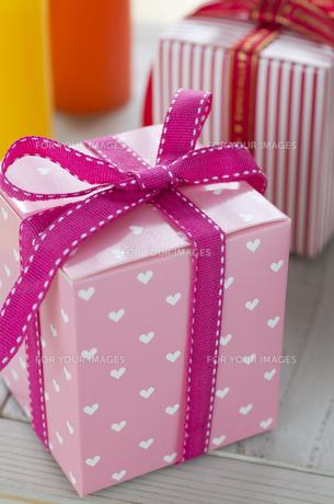 バレンタインのギフトボックスの素材 [FYI00989922]