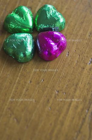 ハートのバレンタインチョコレートの素材 [FYI00989936]