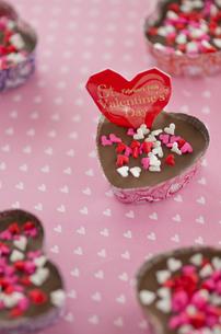 ハートのバレンタインチョコレートの素材 [FYI00990346]