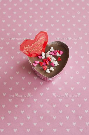 ハートのバレンタインチョコレートの素材 [FYI00990466]
