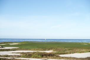 海辺のゴルフ場の素材 [FYI00993290]