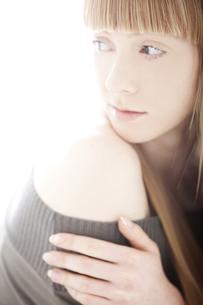 20代の外国人女性のビューティーの素材 [FYI00994055]