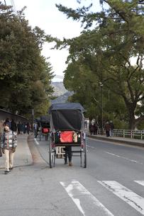 興福寺界隈 人力車の素材 [FYI00997530]