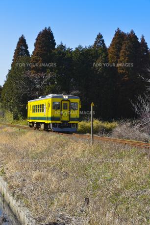 いすみ鉄道のムーミン電車の素材 [FYI01001108]