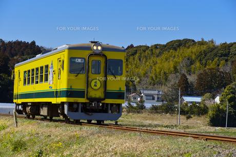 いすみ鉄道のムーミン電車の素材 [FYI01001245]