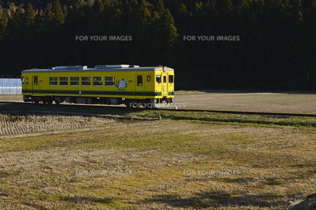 いすみ鉄道のムーミン電車の素材 [FYI01001442]