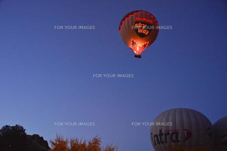 熱気球の素材 [FYI01002094]