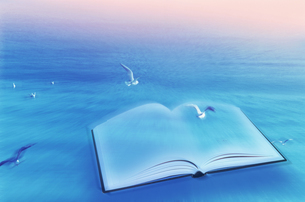 本と鳥の素材 [FYI01003927]