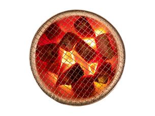 燃える炭の素材 [FYI01008714]
