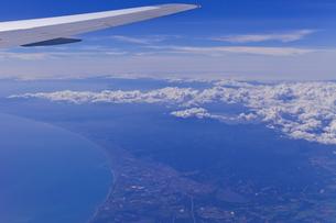 航空機の機上から見下ろした苫小牧市の素材 [FYI01009201]