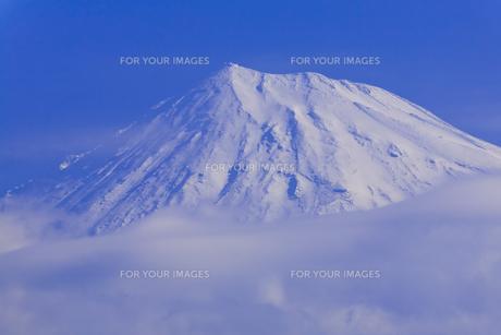 富士山頂を望むの素材 [FYI01009627]