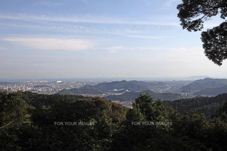 圓教寺より姫路市内を望むの素材 [FYI01012268]