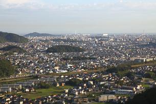 書写山ロープウェイより姫路市内一望の素材 [FYI01012376]