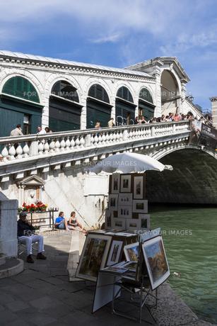 リアルト橋の見える風景の素材 [FYI01013828]