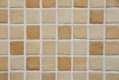 タイルの外壁の素材 [FYI01014655]