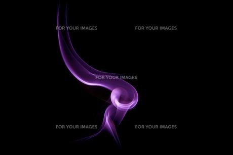 紫の煙のイメージの素材 [FYI01015699]
