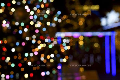 クリスマスイルミネーションの素材 [FYI01015738]
