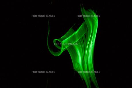 緑の煙イメージの素材 [FYI01015806]
