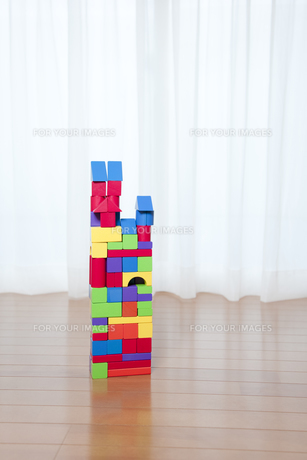 積み木の家の素材 [FYI01016649]