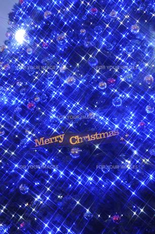 クリスマスイルミネーションの素材 [FYI01016899]