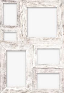 白木の組フレームの素材 [FYI01017432]
