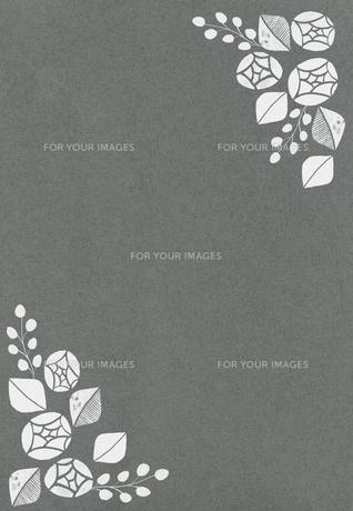 バラの花のフレームの素材 [FYI01017773]