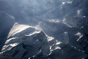 旅客機から見た景色の素材 [FYI01017824]