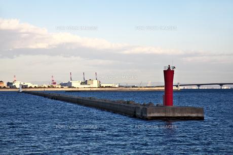 神戸第1防波堤西灯台の素材 [FYI01018144]