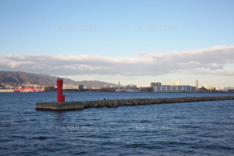 神戸第1防波堤西灯台の素材 [FYI01018166]