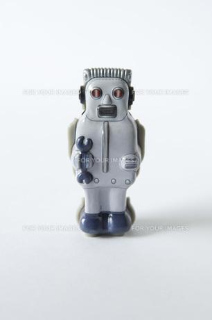 レトロなブリキロボットの素材 [FYI01019377]