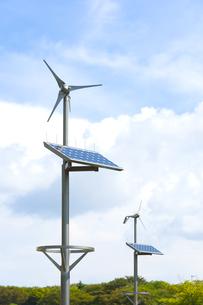 太陽光発電と風力発電の素材 [FYI01023227]