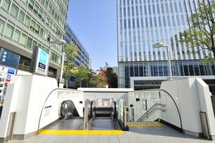 東京メトロ赤坂見附駅 11出口の素材 [FYI01027482]