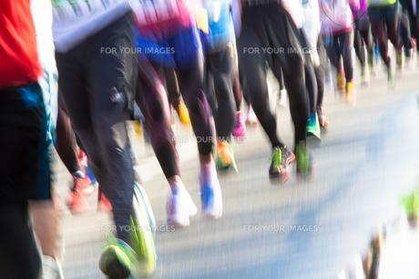 マラソンランナーの素材 [FYI01029455]