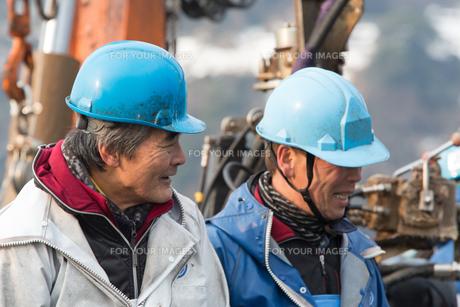 作業する漁師の素材 [FYI01030397]