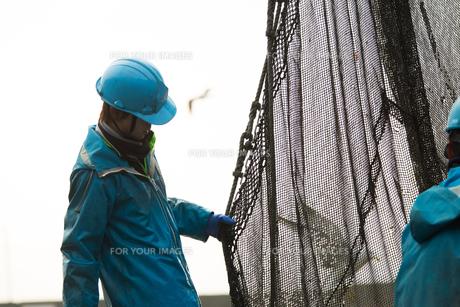作業する漁師の素材 [FYI01030427]